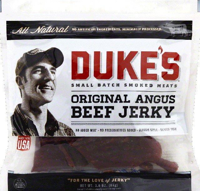 Dukeu0027s House Of Meats Original Angus Beef Jerky, ...