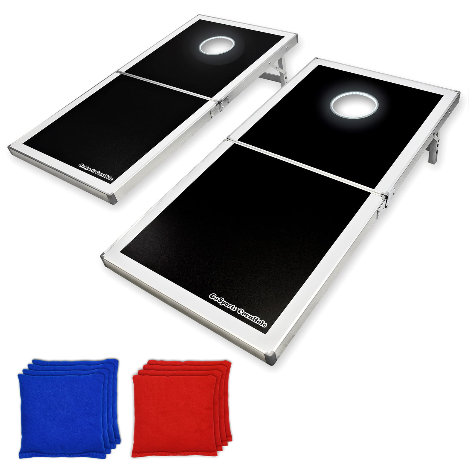 GoSports LED Light Up Cornhole Set, Regulation Size by P&P Imports LLC