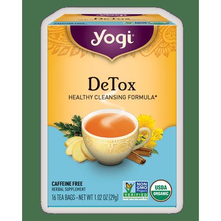 Yogi Tea, DeTox Tea, Tea Bags, 16 Ct, 1 02 OZ
