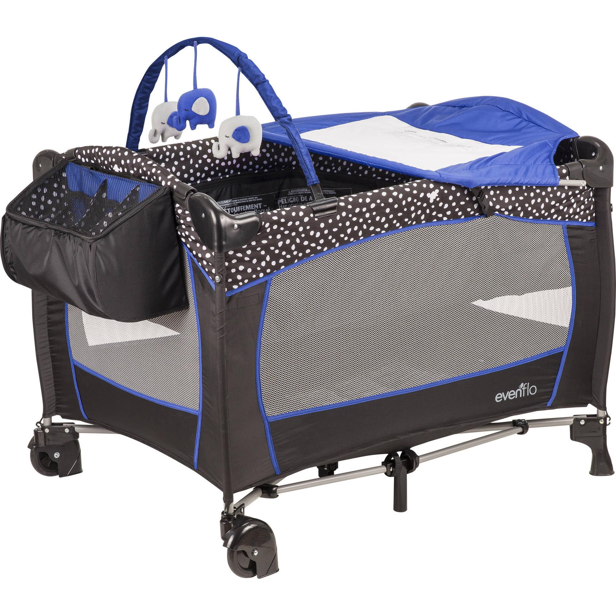 Evenflo Portable Babysuite Deluxe Playard, Hayden Dot