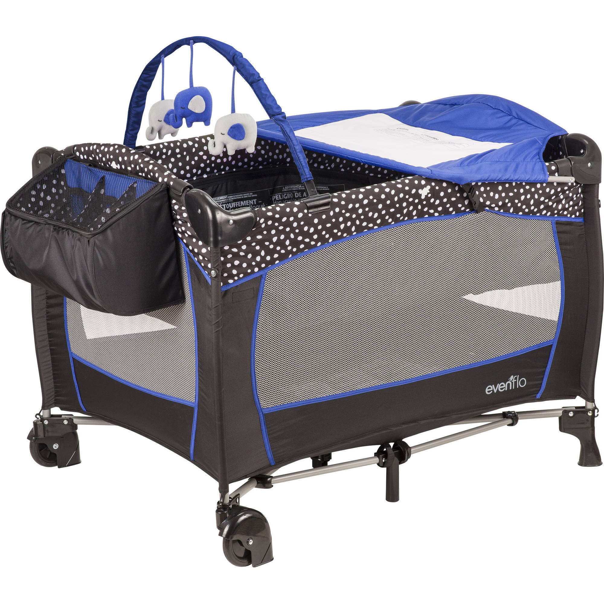 Evenflo Portable Babysuite Deluxe Playard, Hayden Dot