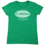 Tommy Boy Callahan Auto Womens Short Sleeve Shirt