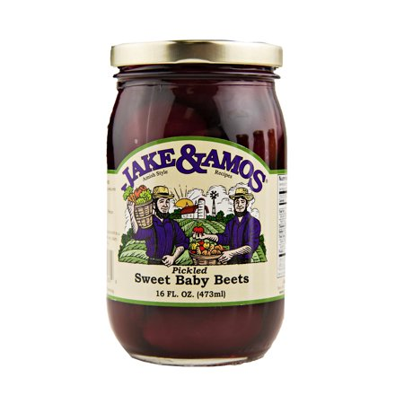 Jake & Amos Pickled Sweet Baby Beets 16 oz. (3 (Pickled Sweet)