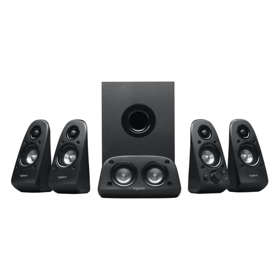 06c7fa54784 Logitech Surround Sound 5.1 Speakers Z506 - Walmart.com