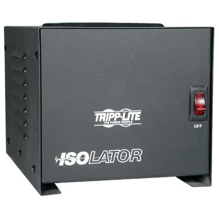Tripp Lite - IS1000 - Tripp Lite Isolation Transformer 1000W Surge 120V 4 Outlet 6' Cord TAA GSA - Receptacles: 4 x NEMA ()