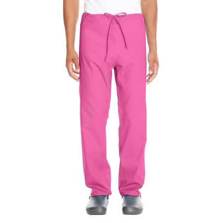 Branded Harriton Adult Restore 49 oz Scrub Bottom - CHARITY PINK - XS (Instant Saving 5% & more on min -