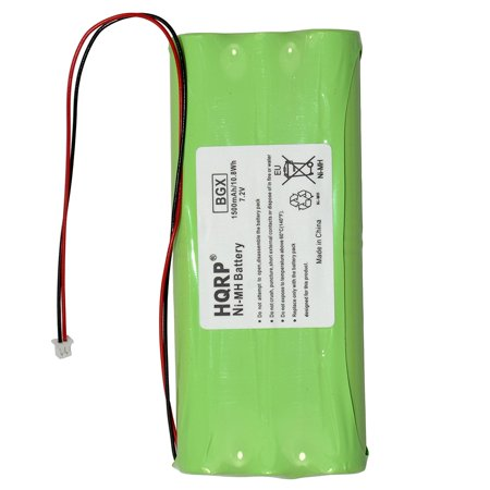 HQRP Battery for DSC IMPASSA-9055 , PowerSeries 9447 Self Contained Wireless Panel SCW9447 SCW-BATTERY + HQRP Coaster