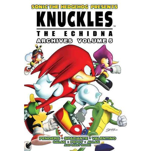 Sonic the Hedgehog Presents Knuckles the Echidna Archives 5