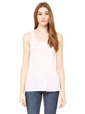 09047b57c2 Product Image Branded Bella + Canvas Ladies Flowy Racerback Tank Top - SOFT  PINK - M (Instant