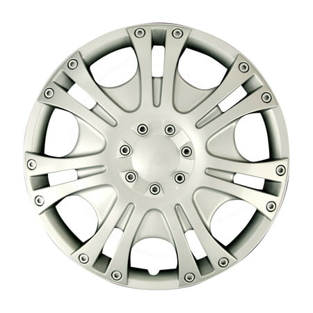 Fit Chrysler Wheels Rim Cover 4pcs Hub Cap Full Lug Trim Skin  Complete Set For LeBaron New Yorker Sebring Voyager 1987
