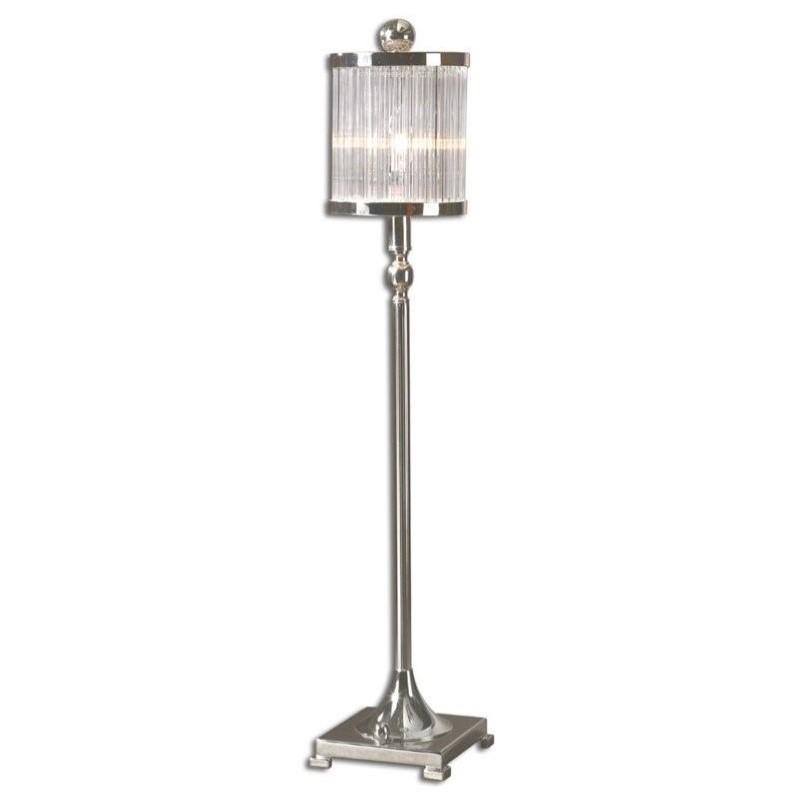 uttermost buffet lamps uttermost cordelia silver buffet lamp 298621 walmartcom