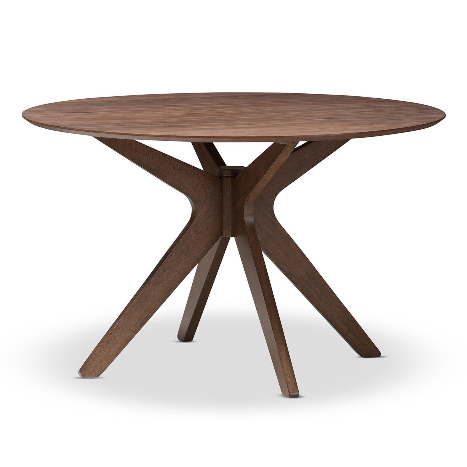Baxton Studio Monte Round Dining Table   Walmart.com