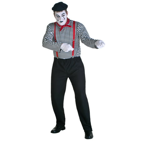 Adult Mime Costume](Mime Costume For Women)