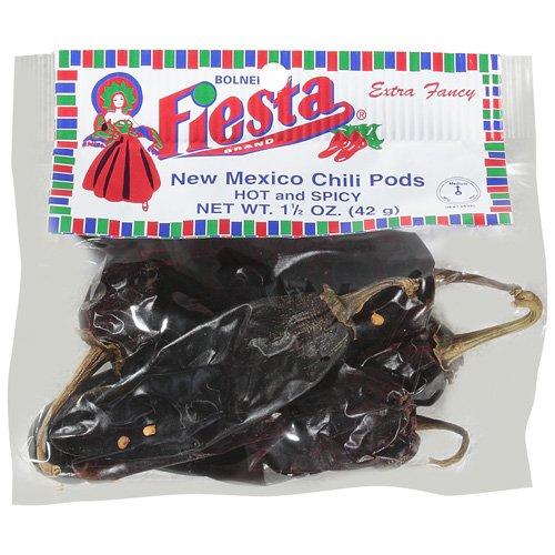 Fiesta Brand Hot & Spicy New Mexico Chili Pods