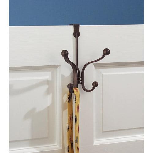 InterDesign York Lyra Over the Door Quad Hook