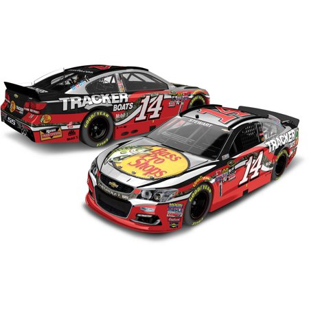 Tony Stewart #14 Bass Pro Shops 2016 Chevrolet SS NASCAR Die-Cast Car, 1:24 Scale Color Chrome ARC HOTO produced by Lionel Racing