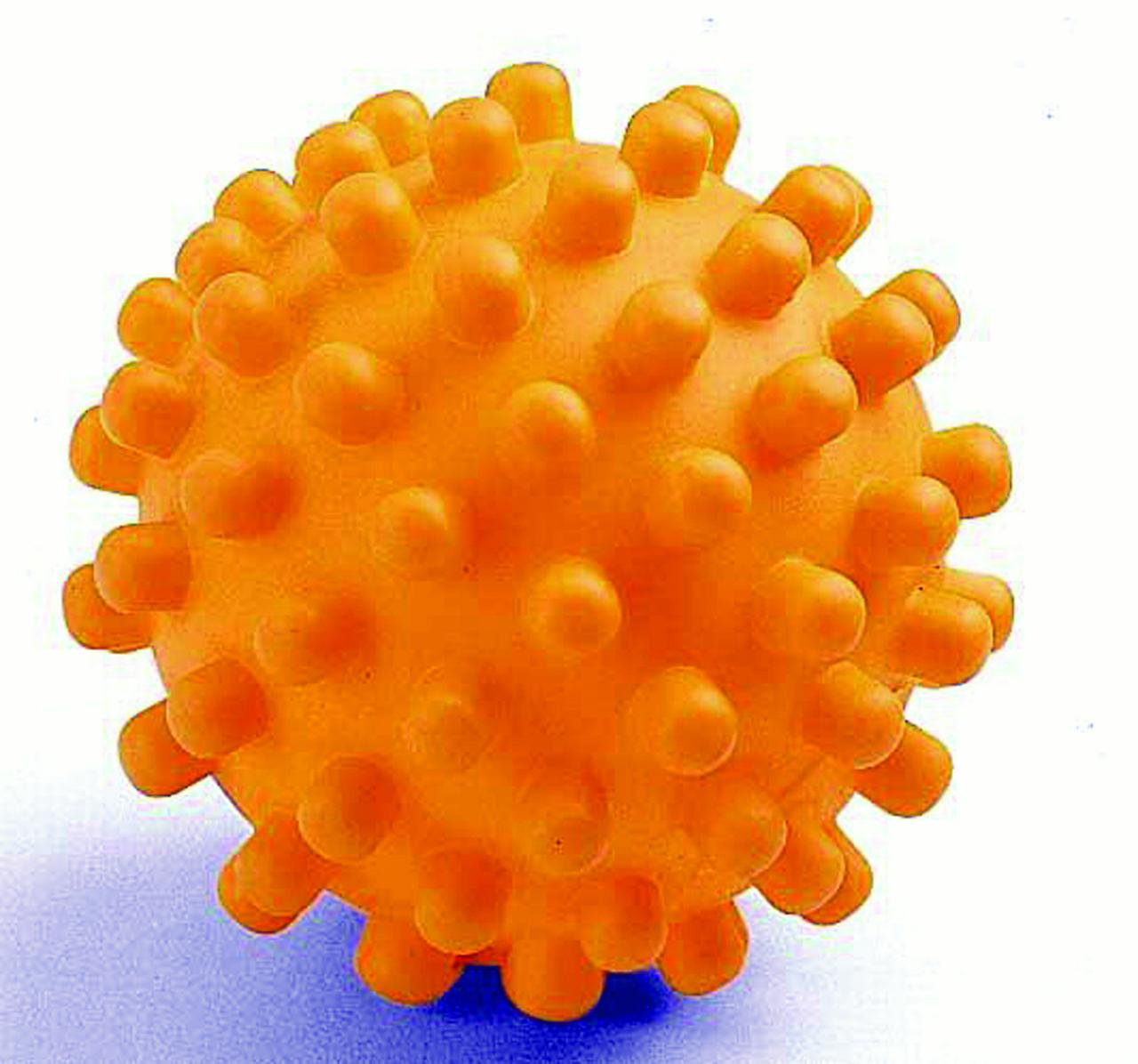 VINYL HEDGEHOG BALL DOG TOY