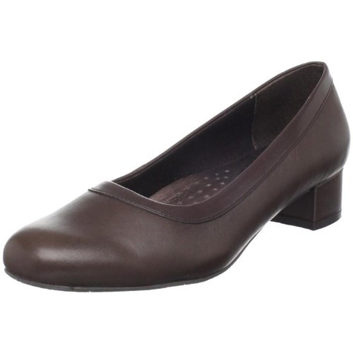 Trotters Womens Dora Leather Slip On Pumps