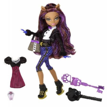 Monster High Sweet 1600 Clawdeen Wolf Doll (Monster High Dress Up Clawdeen Wolf)