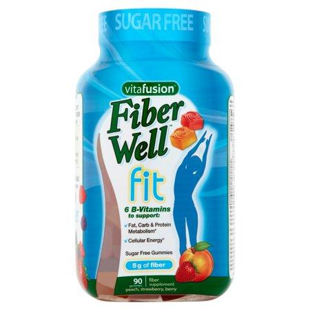 Vitafusion™ Fiber Well™ Fit Gummy Fiber Supplement 90 ct Bottle