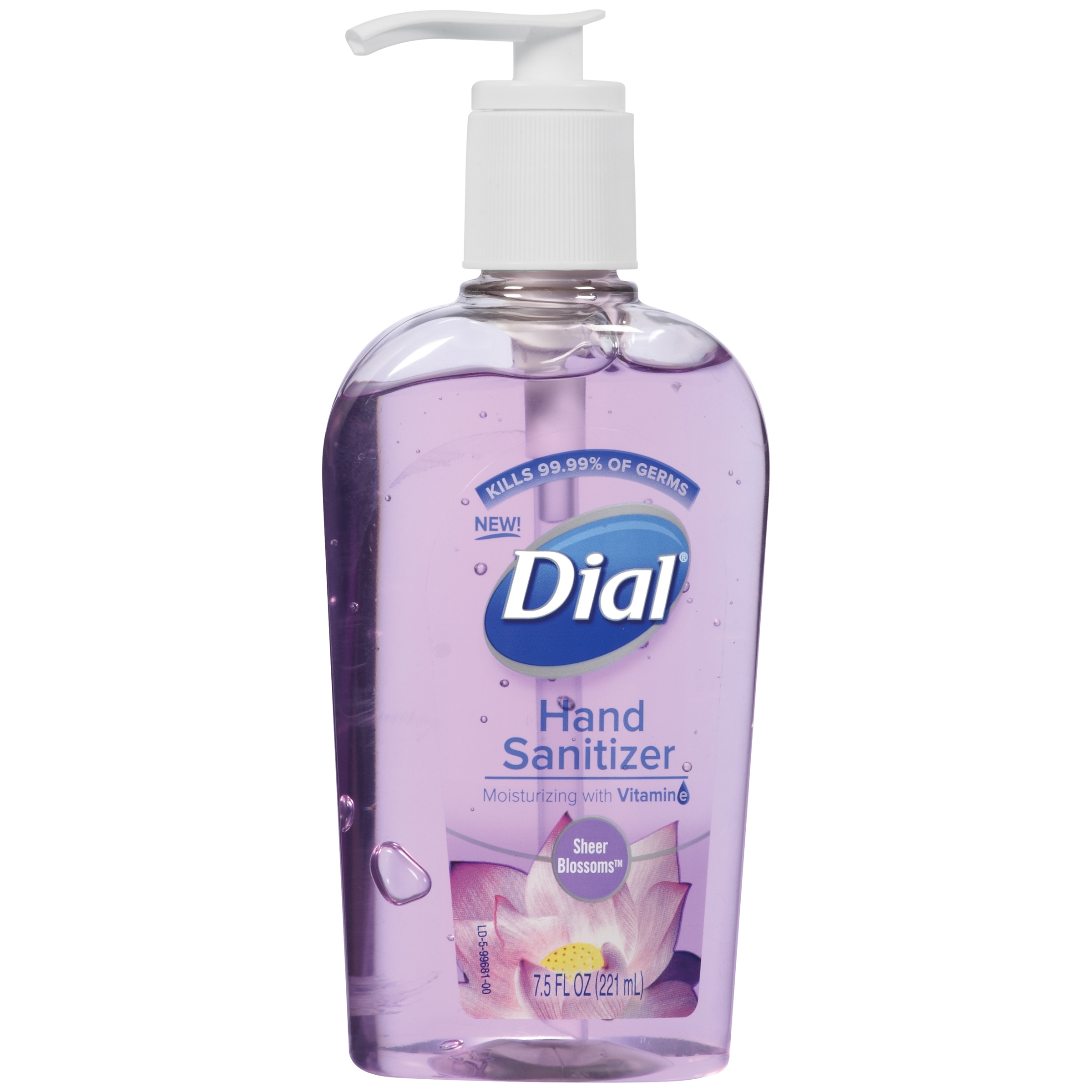 Dial Scented Antibacterial Hand Sanitizer DIA99681 by Dial Corporation