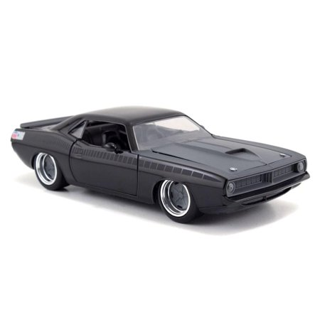 1967 Plymouth Barracuda Convertible (Fast & Furious: Letty's Plymouth Barracuda (Black) 1/24 Scale )