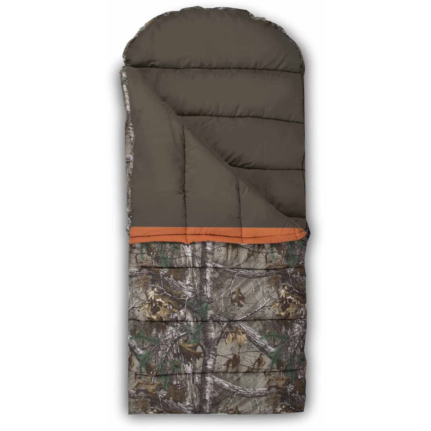 Exxel Outdoors Ranger Realtree Xtra 15-25 Degrees Sleeping Bag, Realtree Xtra by Master Sportsman