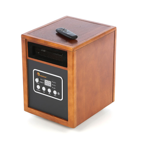 Dr. Infrared Heater DR-968 Portable Space Heater, 1500W by Dr. Heater USA