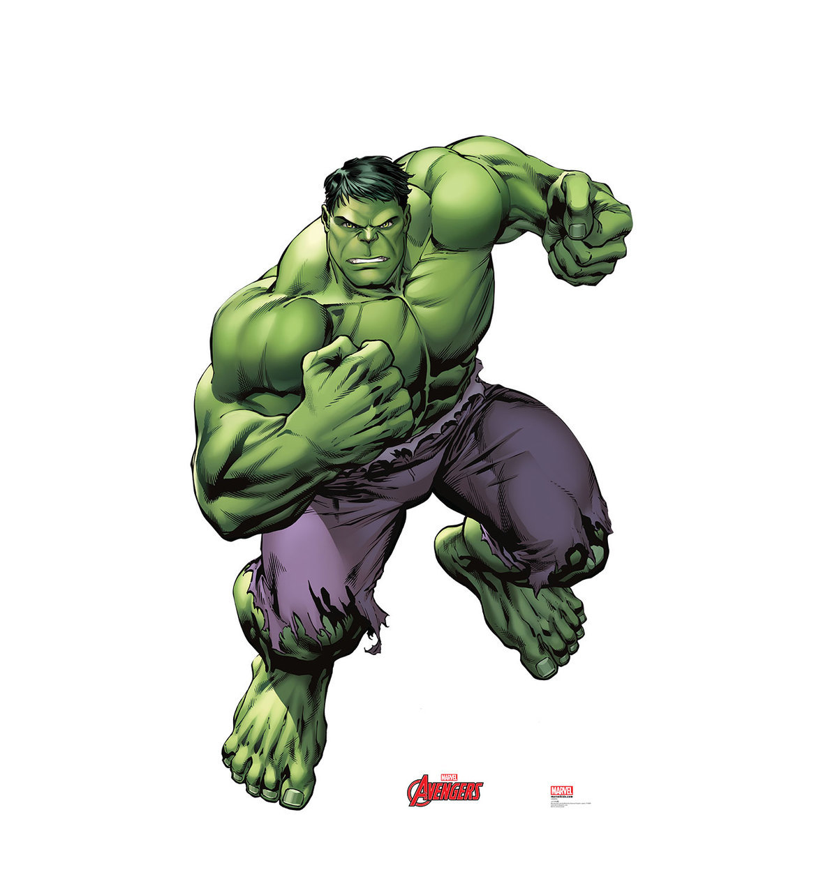"""Incredible Hulk Avengers Marvel Superhero Cutout Stand Large Cardboard Cutout Party Prop Decor Birthday party Supplies, Comic Superhero Birthday decoration Size is: 69"""" x 45"""""""