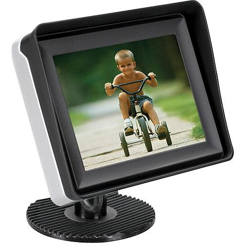 """Audiovox ACAM350 Basic 3.5"""" LCD Rear Observation Monitor"""