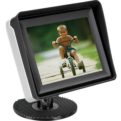 "Audiovox ACAM350 Basic 3.5"" LCD Rear Observation Monitor"