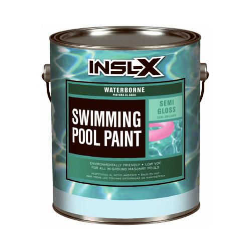 BENJAMIN MOORE & CO-INSL-X WR1019092-01 Gallon AQUA Semi-Gloss Pool Paint
