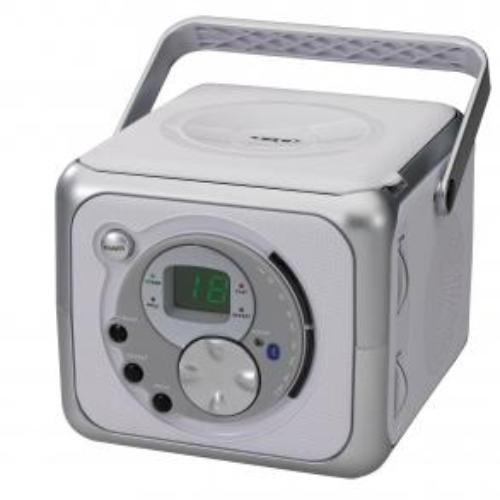 CD555 CD Bluetooth Boombox, Supports A2DP, AVRCP By Jensen