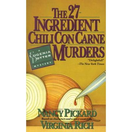 The 27-Ingredient Chili Con Carne Murders - eBook
