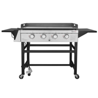Royal Gourmet GB4001 4-Burner 52000-BTU Propane Gas Grill Griddle, 36??L