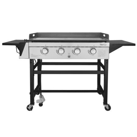 6 Burners 24 Griddle (Royal Gourmet GB4001 4-Burner 52000-BTU Propane Gas Grill Griddle, 36''L )