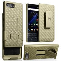 Product Image BlackBerry Key2 LE Case with Clip, Nakedcellphone Kickstand Cover with [Rotating/Ratchet]