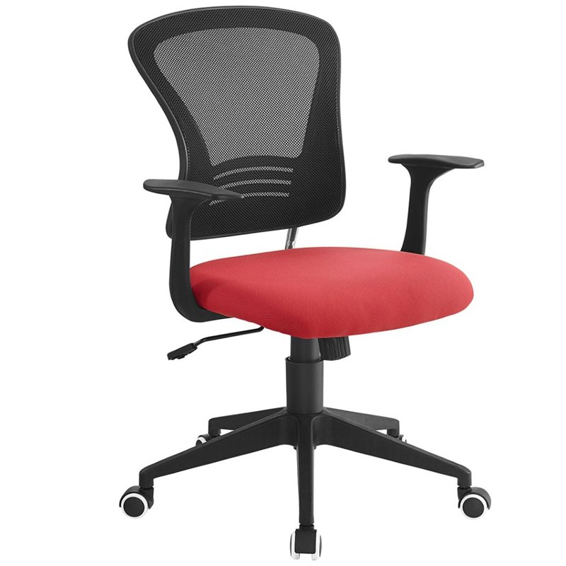 Poise Office Chair in Red