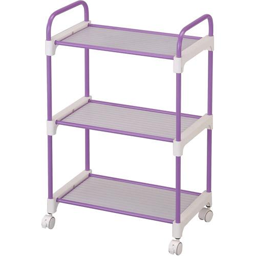 3-Tier Utility Cart, Lavender