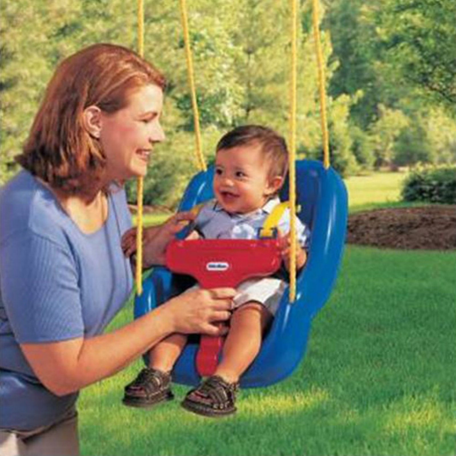2-in-1 Snug 'n Secure Swing - Blue