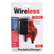 Just Wireless A/C Micro USB Portable Wall Charger