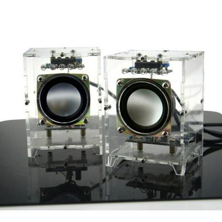 Portable Mini Digital Music Radio Speaker Player Kit DIY 3W Computer