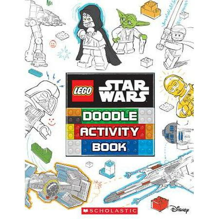 Girls Doodle Book - Doodle Activity Book (Lego Star Wars)