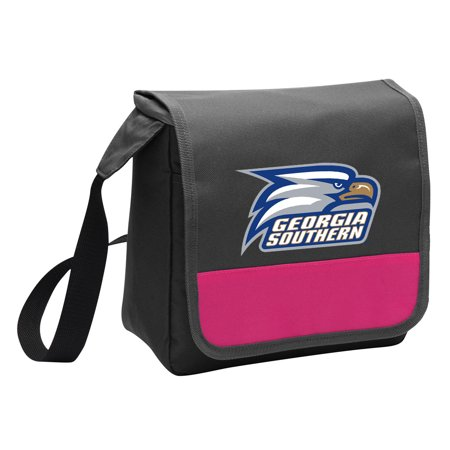Georgia Southern Lunch Bag for Girls or Women Stylish OFFICIAL Georgia Southern Eagles Lunchbox Cooler for School or Office Georgia Womens Eagle Light