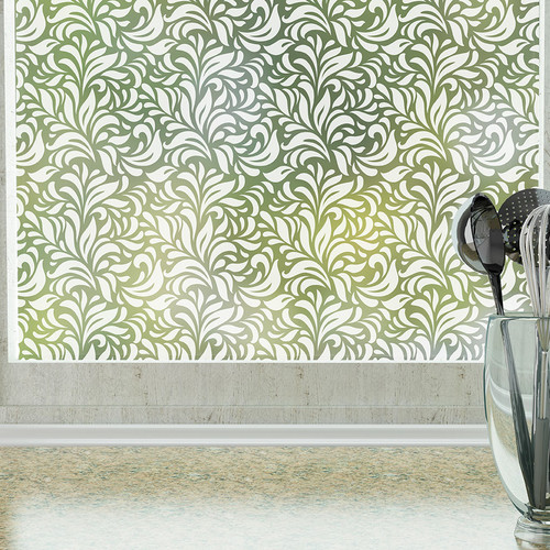 Stick Pretty Carlyle Privacy Window Film
