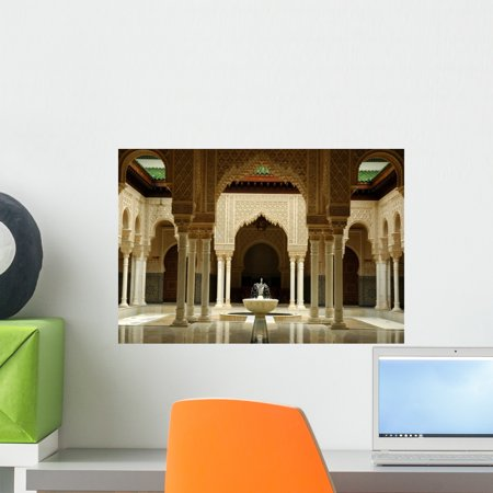 Moroccan Architecture Interiors Wall Mural by Wallmonkeys Peel and Stick Graphic (18 in W x 12 in H) WM336630