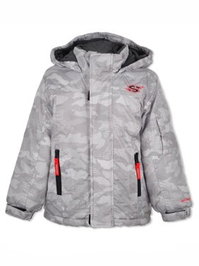 Skechers Boys' Sharp Geo Camo Insulated Jacket