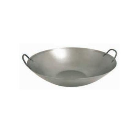Barbour 8540 Classic Flat Bottom Steel Wok