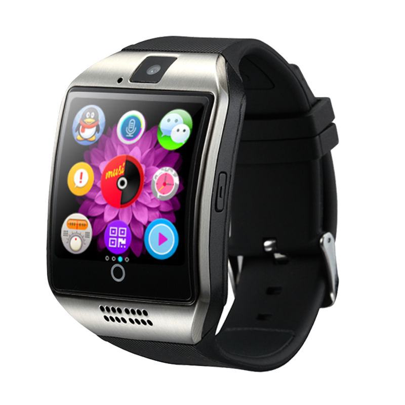 TechComm Q18 Bluetooth NFC GSM Unlocked Smart Watch with Camera