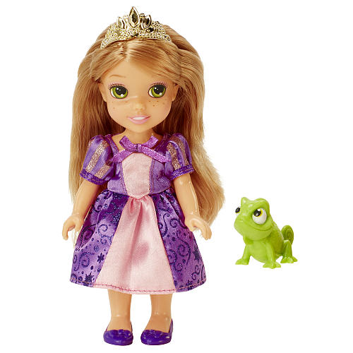 Disney Princess Petite 6 inch Toddler Doll Rapunzel with Pascal by